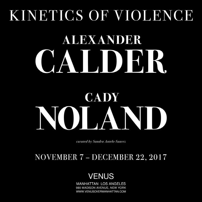 Kinetics of Violence: Alexander Calder + Cady Noland